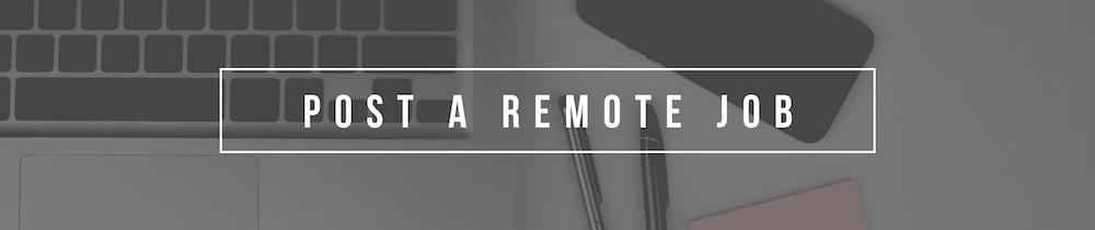 remote jobs remote job board