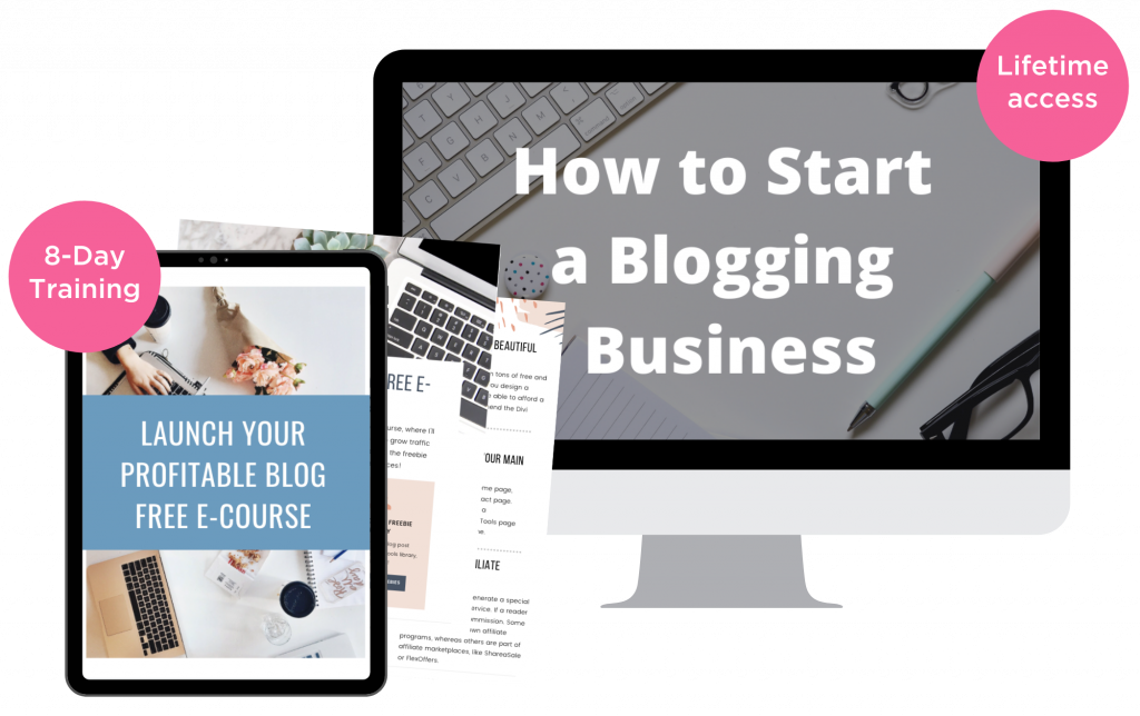 remote bliss blogging course