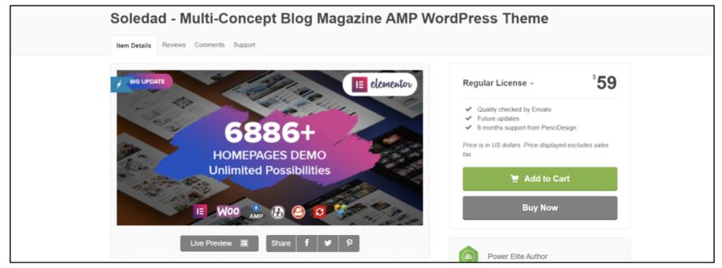 the best wordpress theme for blogging