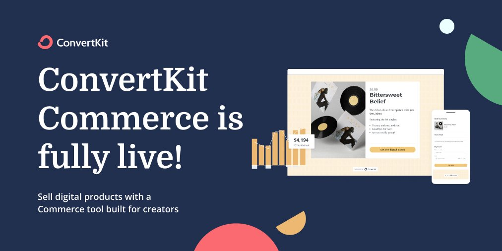 convertkit commerce