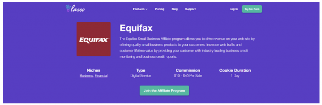 affiliate programs for personal finance bloggers