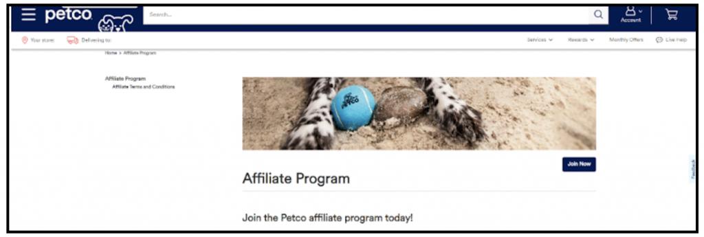 pet blogger affiliate program