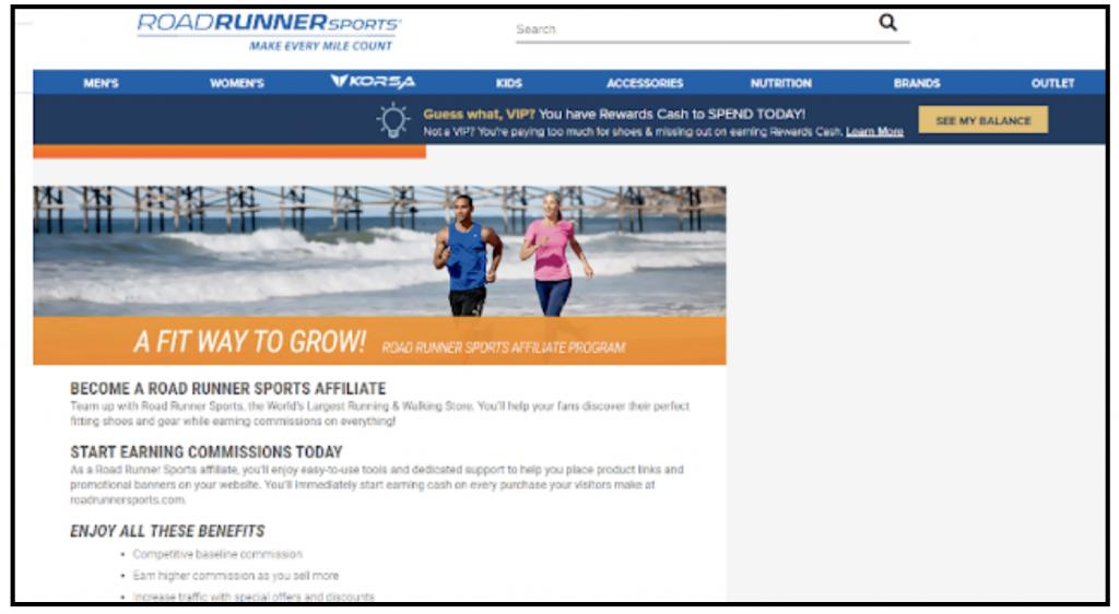 best affiliate program running