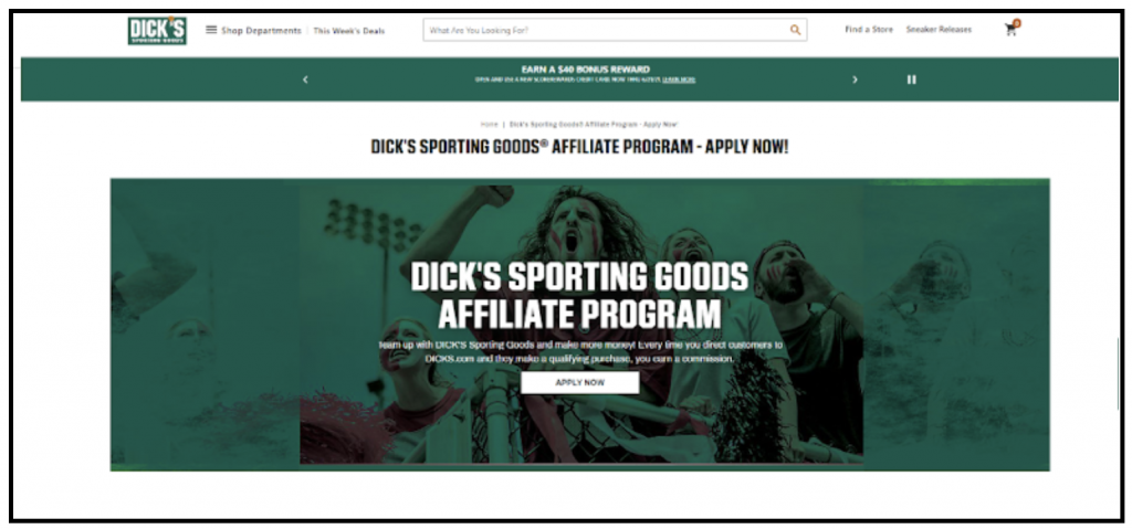 best affiliate program sports