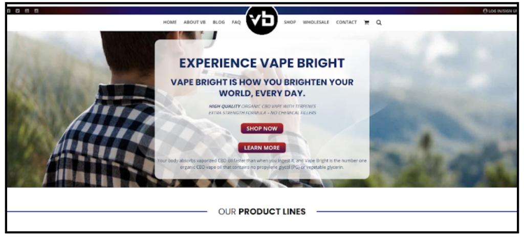 affiliate program vaping