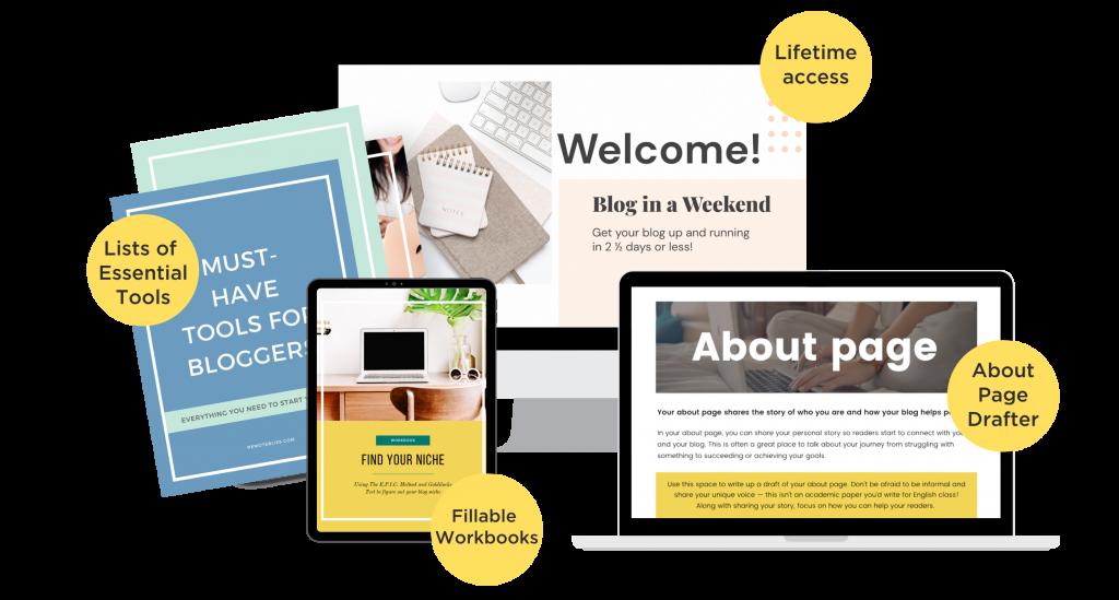 blog in a weekend