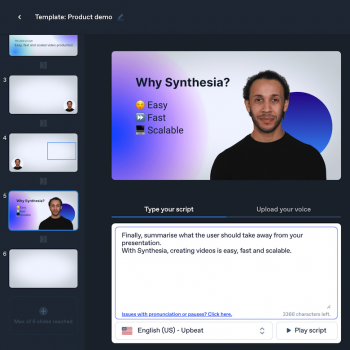 synthesia ai video generator